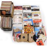 Three boxes containing mainly classical records, to include organ music, some easy listening, small