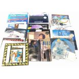 A large quantity of 80s, 90s, 2000 records, some limited editions, picture discs, etc., to include M