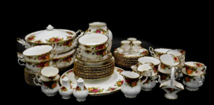 A large quantity of Royal Albert Old Country Roses pattern ceramics, to include dinner ware, tea war