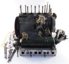 A Reliant Robin engine, etc. (1 box)