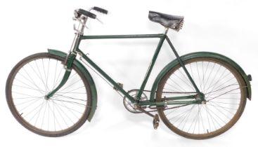 A vintage Curry gentleman's bicycle.