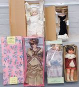 A group of collectors dolls, to include Sweet Days Treasure Collection, Leonardo Collection, Frankli