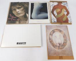 Pirelli calendars, comprising 1989, 1993, 1997, 2003.