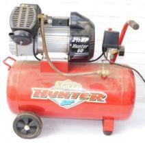 A Hunter 60 air compressor.