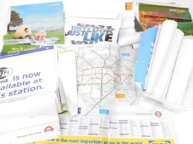 Transport for London and other miscellaneous transport posters. (a quantity)
