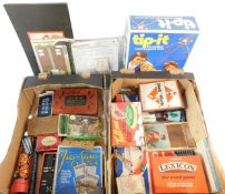 Games and toys, to include Monopoly., Lexicon., Tip It., The Great Game of Britain., and an Illustra