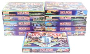 Monopoly County and City Editions, comprising Birmingham, Newcastle and Gateshead, Devon, Chester an