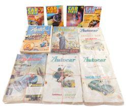 The Auto Car Magazine 1953-54, The Austin Magazine, 1930-38, and Car Fix It magazine. (a quantity)