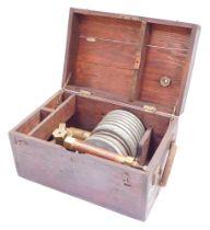 A Barnet Instruments portable calibrator, for pressure gauges, reference no 6C/H84., Serial No 785/4