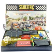 A Scalextric model motor racing set, number 70, boxed. (AF)