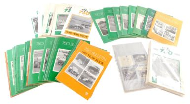 750 Bulletin motoring monthly magazines, together with Year Books 1987-1990 (a quantity)