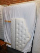 A Relyon Winchester king size bed, mattress and headboard. (3)