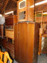 Sundry furniture, including wardrobe, chests of drawers, TV casing, etc. (5)
