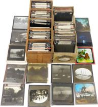 A group of Magic Lantern Slides, relating to UK towns, Buxton, Derbyshire, London, tourist points, h