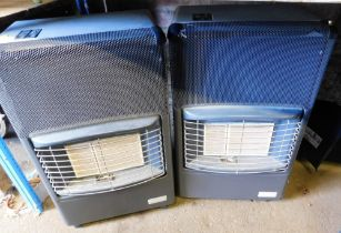 Two gas heaters.