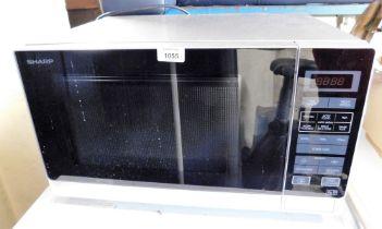A Sharp microwave.