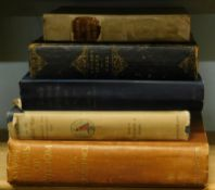 A collection of antiquarian books, to include Boswell's on the Grand Tour and London Journal,