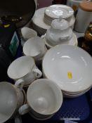 An Imagination by Royal Doulton part dinner service, comprising dinner plates, teacups, milk jug, su