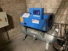 Boge K6 compressor, 9263 hours (not tested)