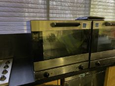 Smeg oven (not tested)