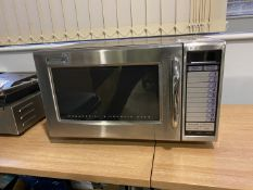 Sharp microwave (not tested)