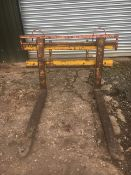 HEAVY DUTY PALLET TINES & CARRAGE