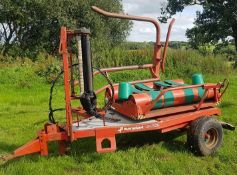 KVERNLAND 7510 TRAILED BALE WRAPPER