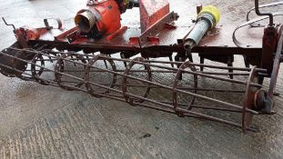 KUHN HR 300 POWER HARROW- 3 MTR WIDE + PTO SHAFT WITH NEW GUARDS