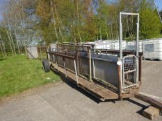 15FT MOBILE SHEEP RACE WITH HOLDING PEN