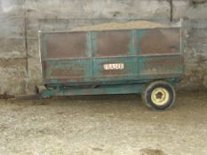 FRASER 4T SINGLE AXLE TIPPING TRAILER