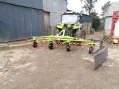 CLAAS VOLTO TEDDER (AS NEW )