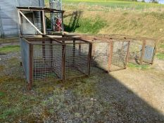 CALF CAGES by kind permission