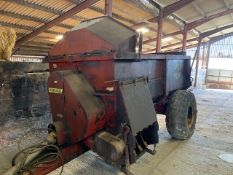 1996 MARSHALL 850 MUCK SPREADER by kind permission