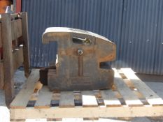 SET OF 12 50KG CLAAS TRACTOR WEIGHTS