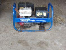 DRAPER EXPERT GENERATOR PD 500K HONDA ENGINE