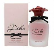 + VAT Brand New Dolce & Gabbana Rosa Excelsa (L) 50ml EDP Spray