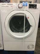+ VAT Grade A/B Hoover H-Dry HLXC10DG 10Kg Tumble Dryer - 16 Programmes - Can Fit Up To 50 T Shirts