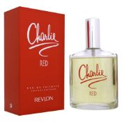 + VAT Brand New Revlon Charlie Red 100ml EDT Spray