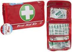 + VAT Brand New 37 Piece First Aid Kit In Pouch