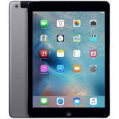 + VAT Grade B 16Gb Apple iPad Air 1 - Space Grey - 9.7 Inch