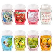 + VAT Fifty Assorted Pocketbac Anti Bacterial Hand Gel - 1fl.oz Per Bottle - Perfectly Shaped For