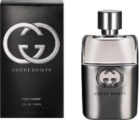 + VAT Brand New Gucci Guilty P/H 50ml EDT Spray