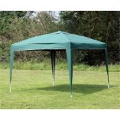 + VAT Brand New Green 3m x 3m Pop Up Gazebo - ISP £64.99 ManoMano.co.uk (Similar)
