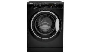 + VAT Grade A/B Hotpoint NSWM943CBS 9Kg 1400 Spin Washing Machine - 16 Programmes - 30 Minute Quick