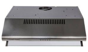+ VAT Grade A/B Russell Hobbs RHVSRCH602SS 60cm Cooker Hood - 3 Fan Speeds - Washable Filter -