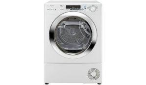 + VAT Grade A/B Candy GVS H9A2DCE 9Kg Heat Pump Tumble Dryer - Sensor Dry - 14 Programmes - A++