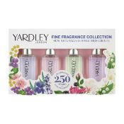 + VAT Brand New Yardley Contempory Miniatures 4X10ml edt