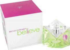 + VAT Brand New Britney Spears Believe 100ml EDP Spray
