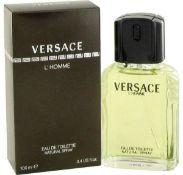 + VAT Brand New Versace L'Homme 100ml EDT Spray