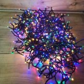 + VAT Brand New 800 Multi Coloured LED Multi Function Christmas Lights
